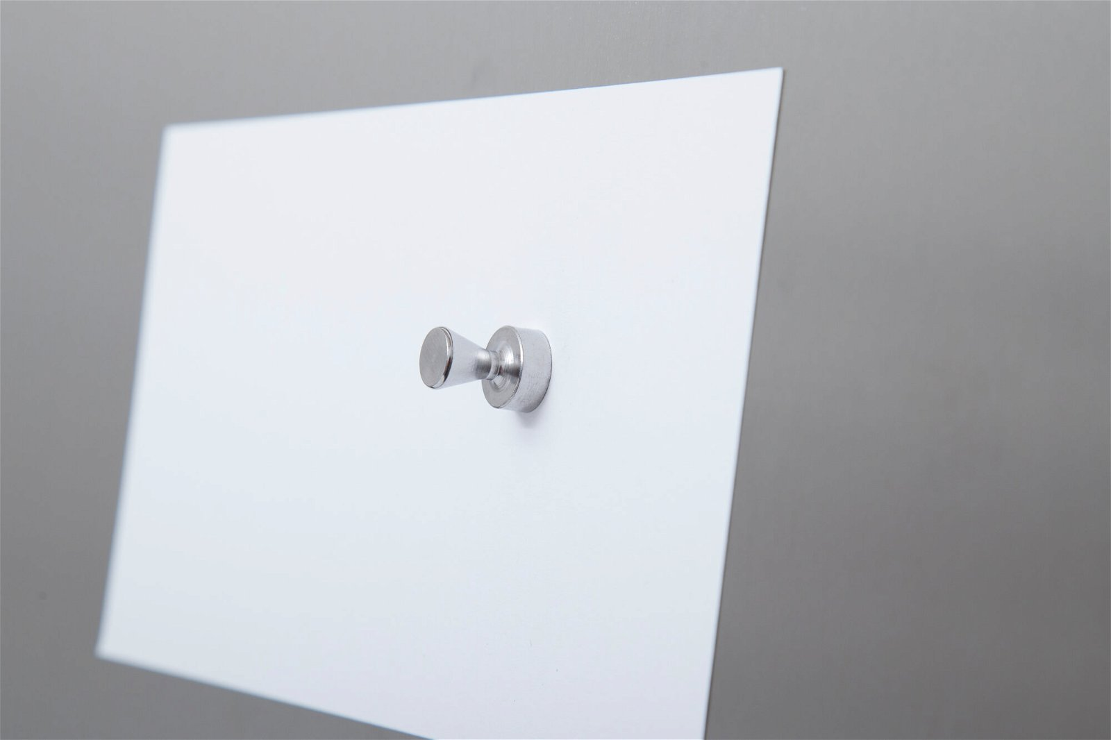 Neodym-Kegelmagnet, Ø 12 mm, 3,5 kg Haftkraft, 5 St./Set, hellsilber