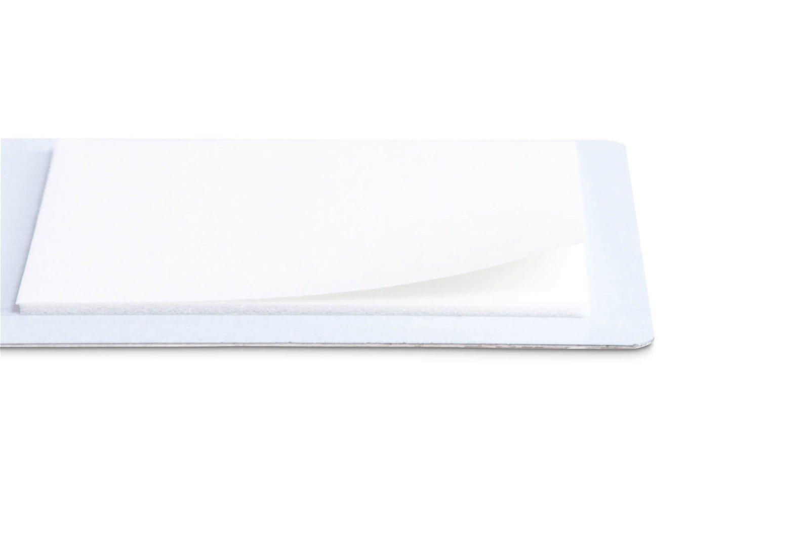 Ferroleiste MAULstandard, Länge 50 cm, inkl. 2 Magnete, weiß