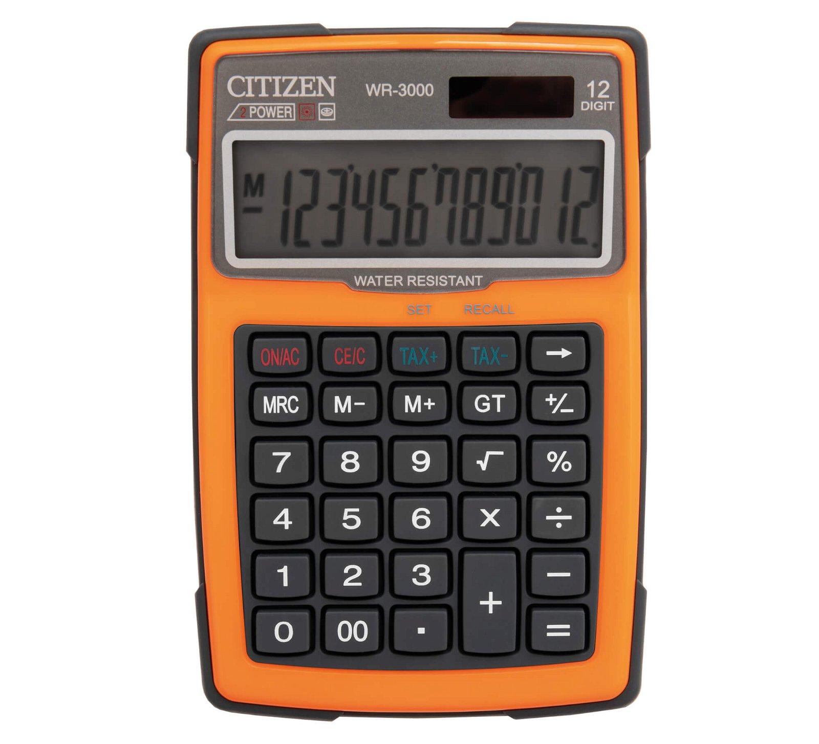Tischrechner outdoor 3000, orange