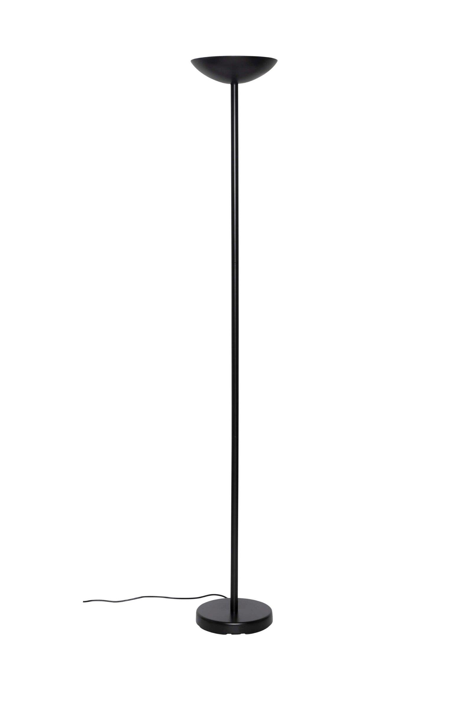 Halogen-Standleuchte MAULsky, dimmbar, schwarz