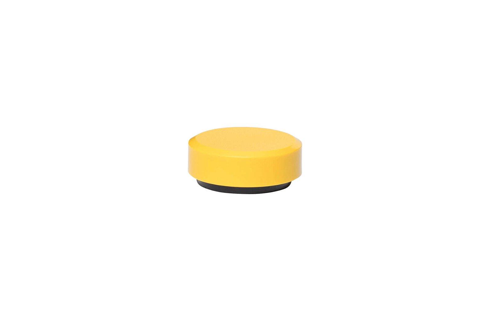 Facetterand-Magnet MAULpro Ø 30 mm, 0,6 kg, 20 St./Set, gelb