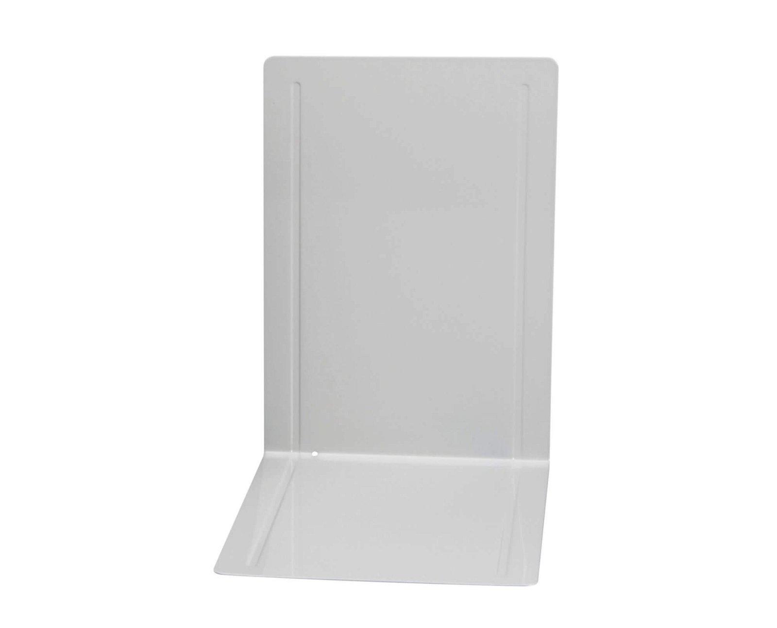 Registraturstützen breit, 24 x 16,8 x 24 cm, grau