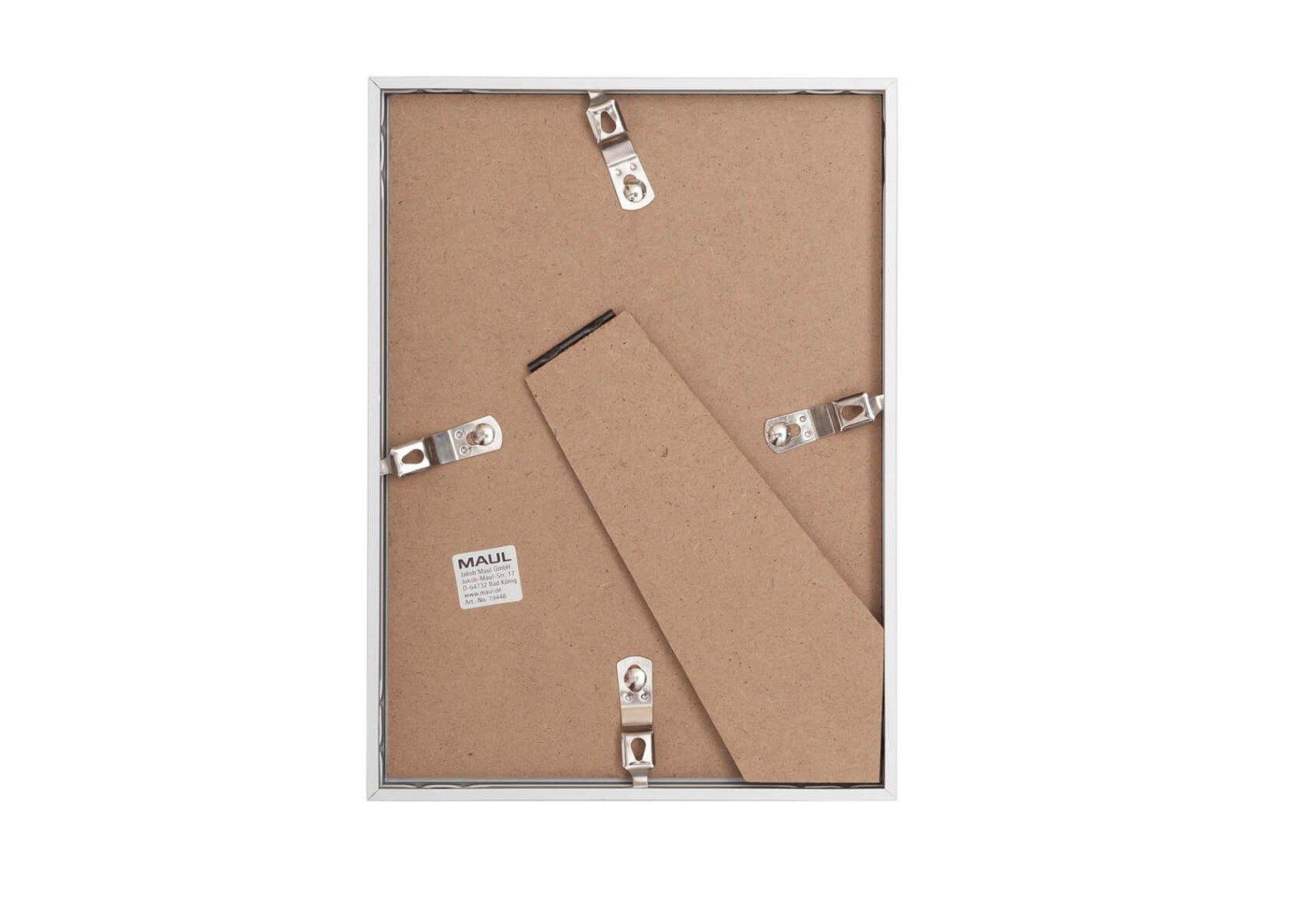 Bilderrahmen Aluminium, 13 x 18 cm, glasklar