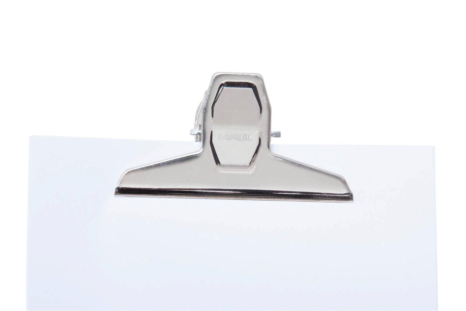 Brief-Klemmer MAULpro mit Magnet Breite 125mm, 2 St./Set, hellsilber