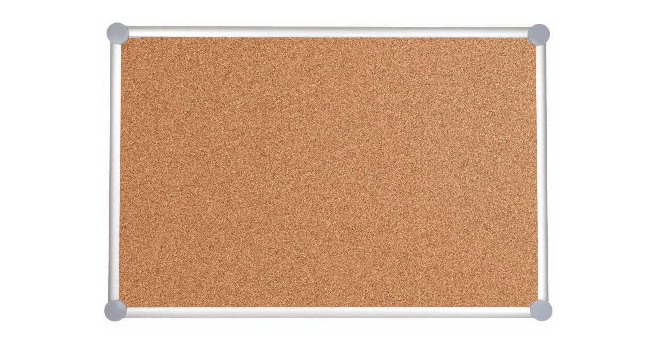 Pinnboard 2000 MAULpro, Kork, 60x90 cm, grau