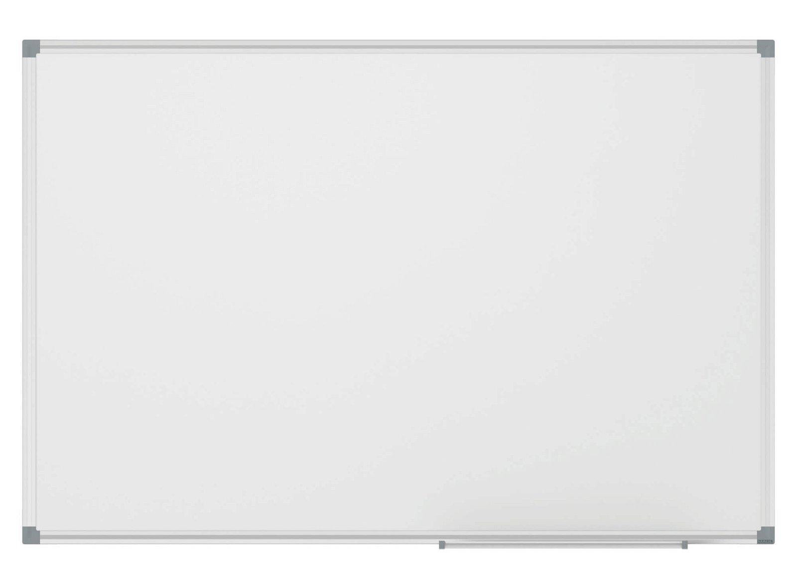 Whiteboard MAULstandard, Emaille, 100x200 cm, grau