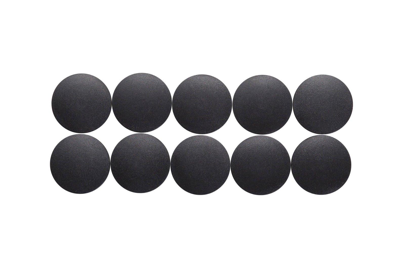 Magnet MAULsolid Ø 32 mm, 0,8 kg Haftkraft, 10 St./Ktn., schwarz