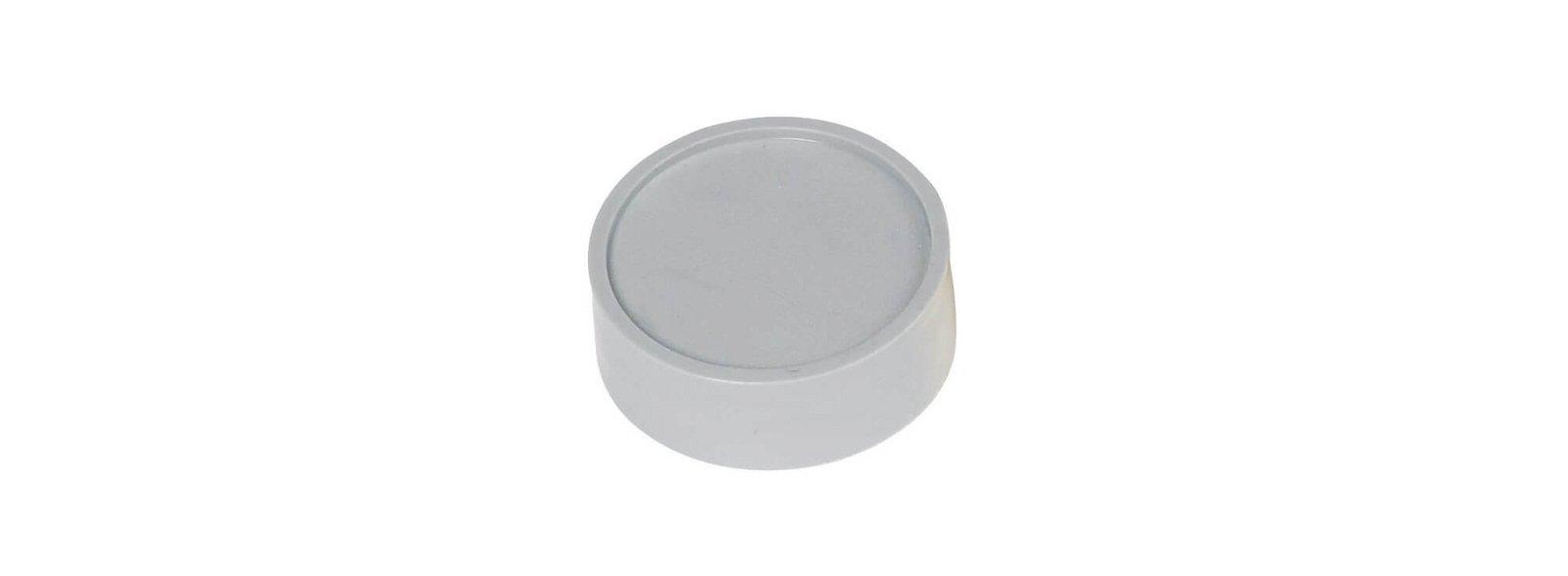 Rund-Magnet, PE Ø 34 mm, 2 kg Haftkraft, 10 St./Set, grau
