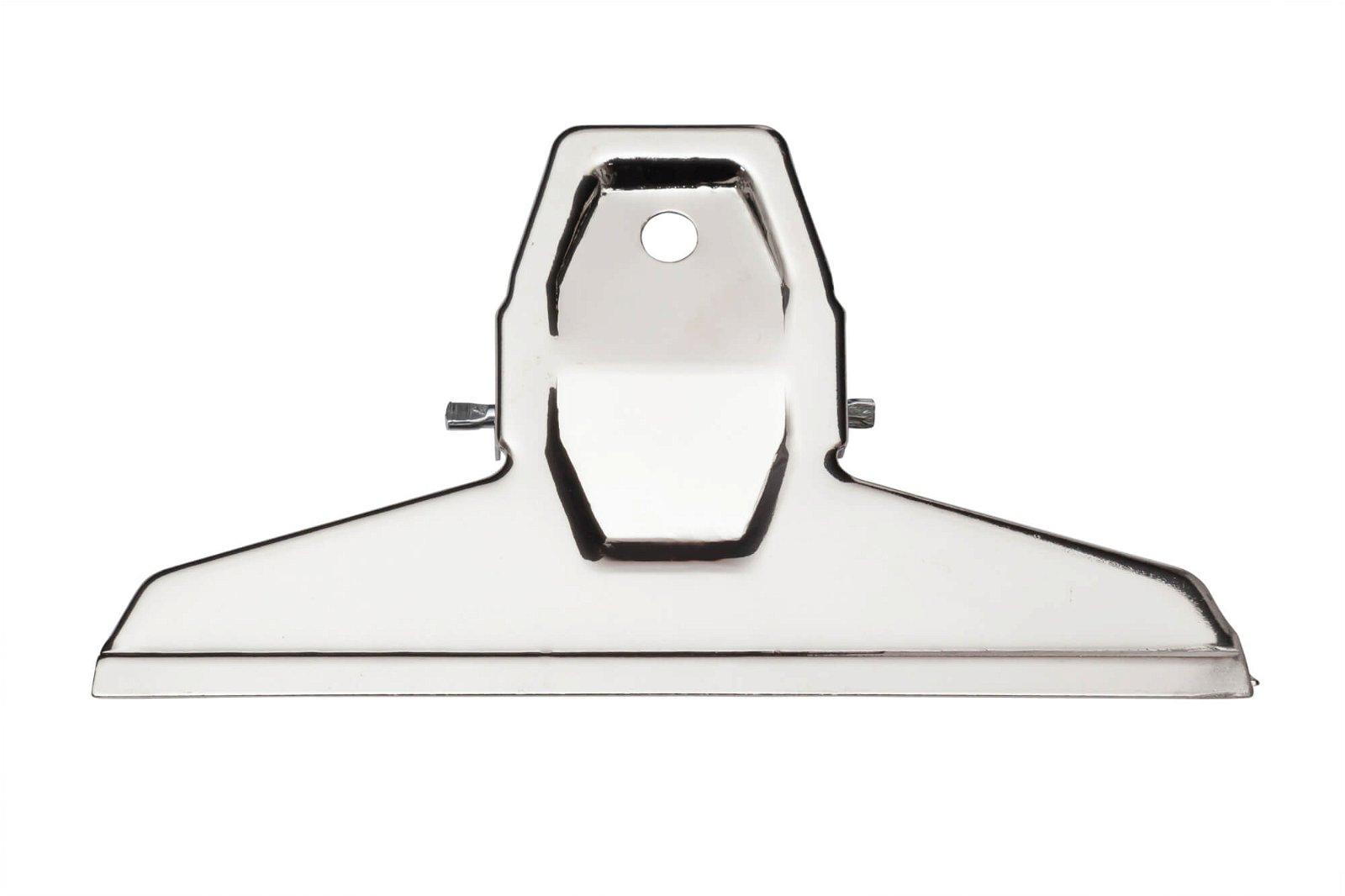 Brief-Klemmer MAULpro, Breite 125 mm, 2 St./Btl., hellsilber