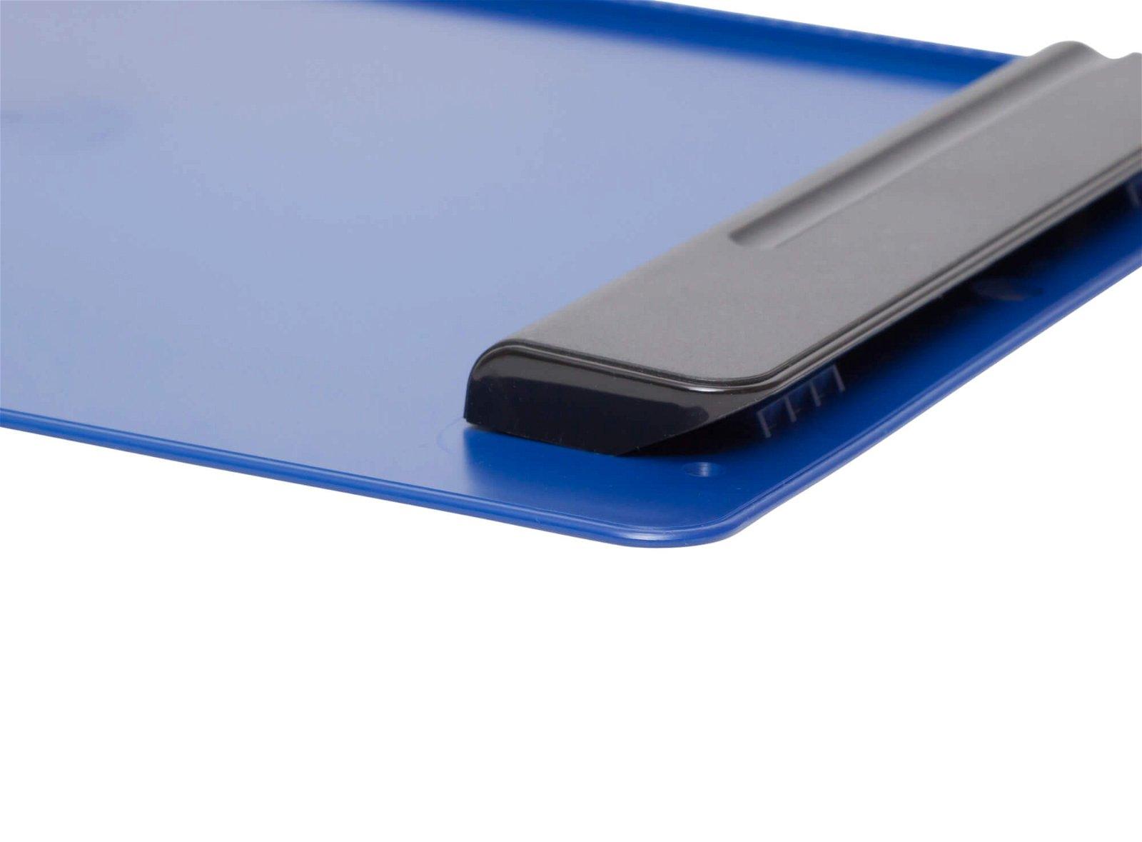 A4 Schreibplatte MAULgo Kunststoff, blau