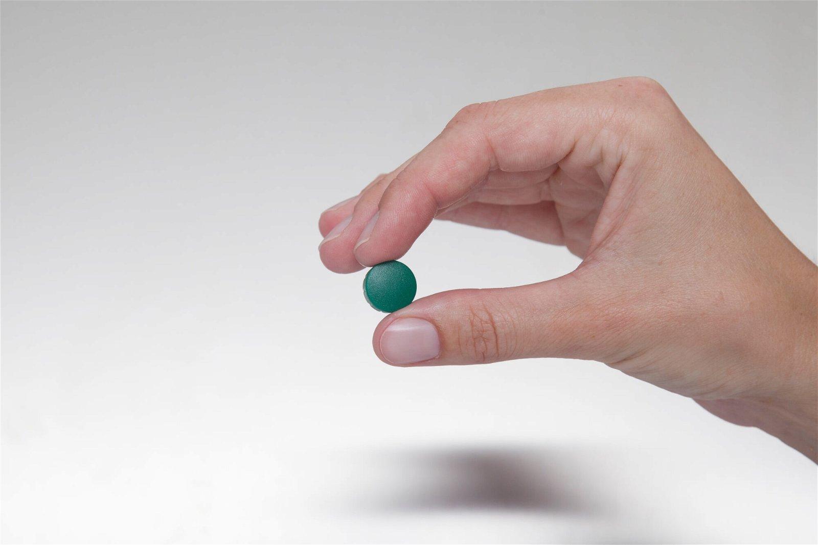 Magnet MAULsolid Ø 15 mm, 0,15 kg Haftkraft, 10 St/Ktn., grün