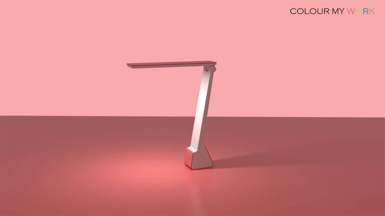 Akku LED-Leuchte MAULseven colour vario - touch of rose
