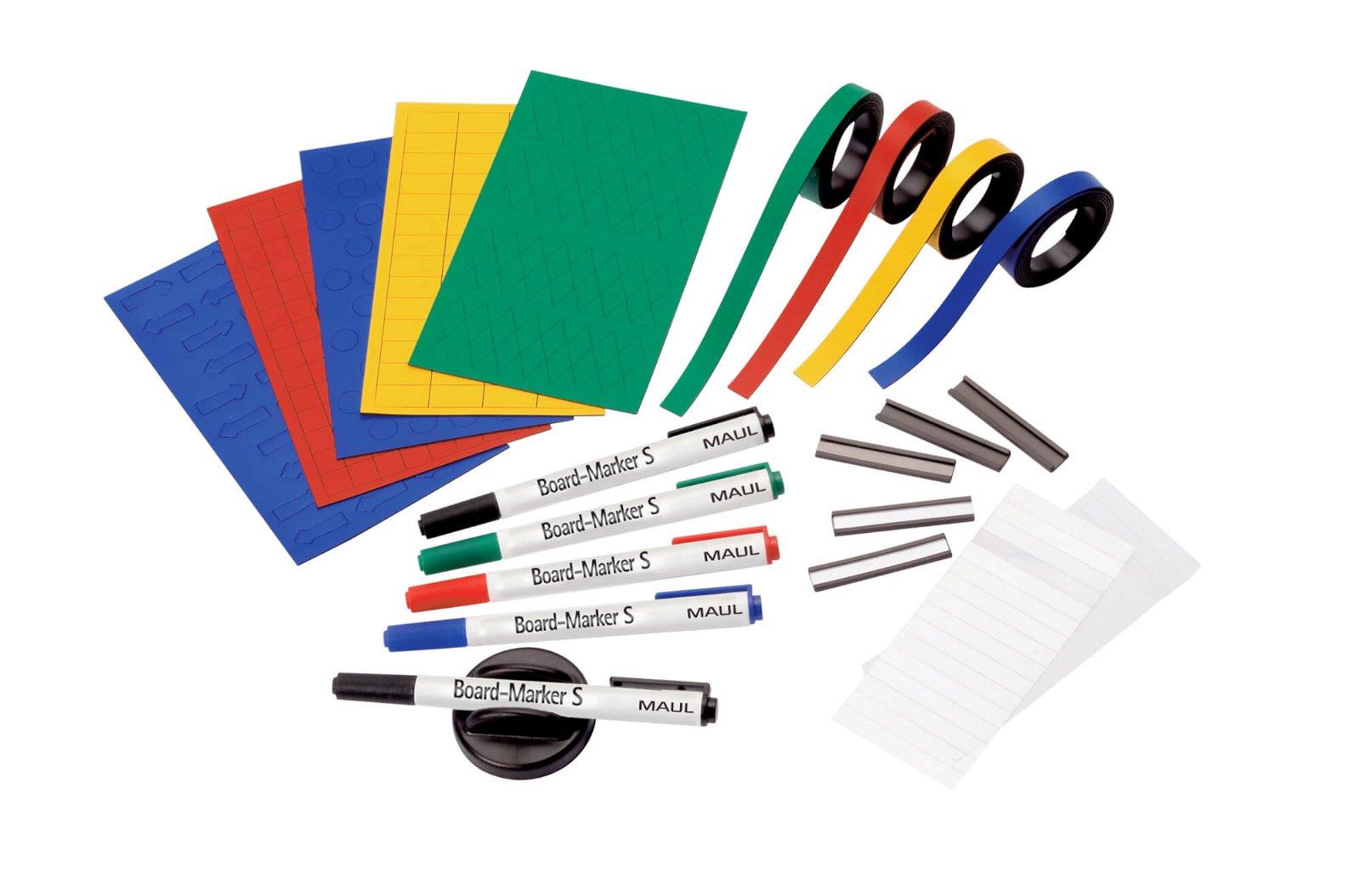 Zubehör-Set Plantafeln, SB-Verpackung, farbig sortiert