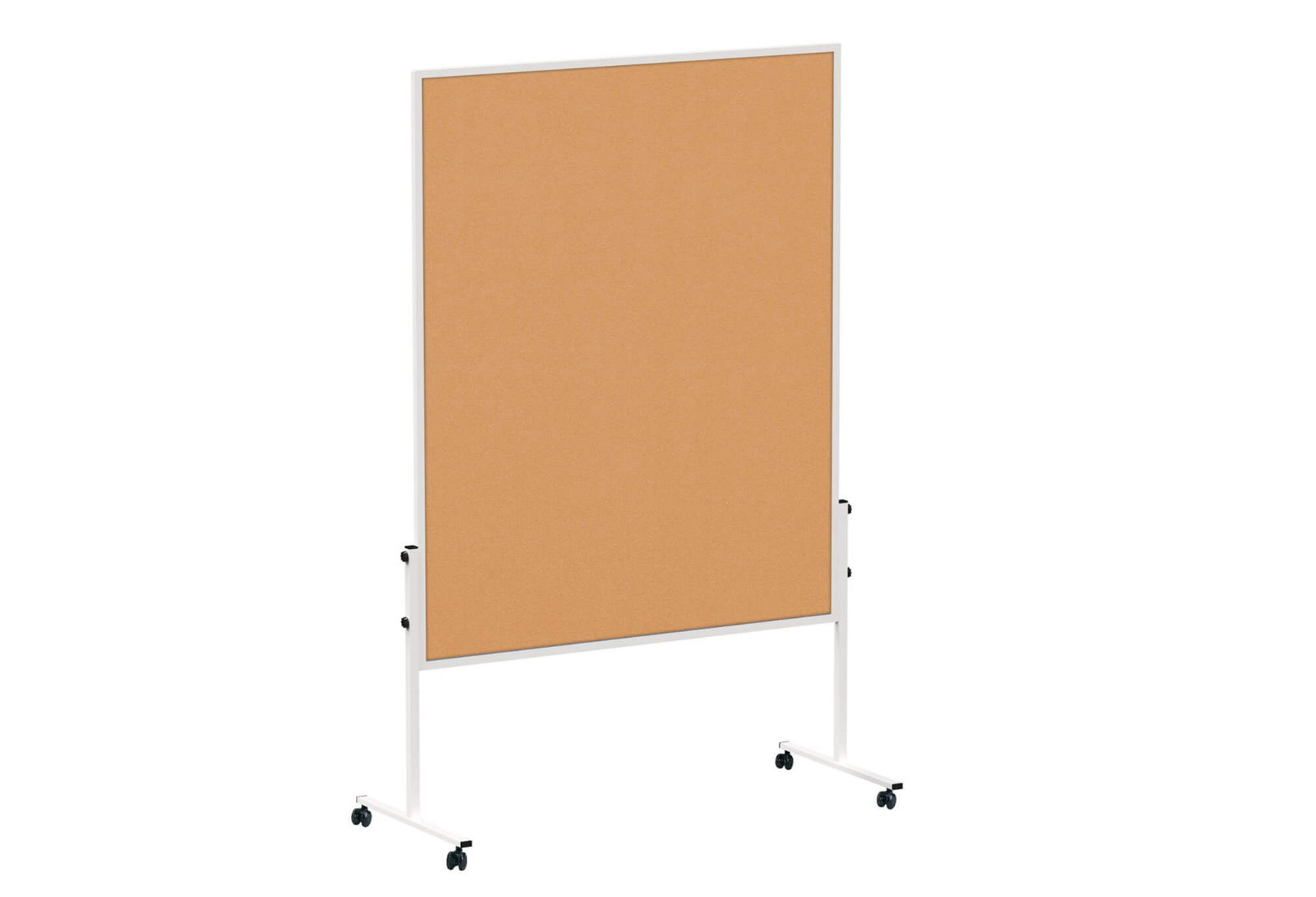 Moderationstafel MAULsolid Kork, 150x120 cm, grau