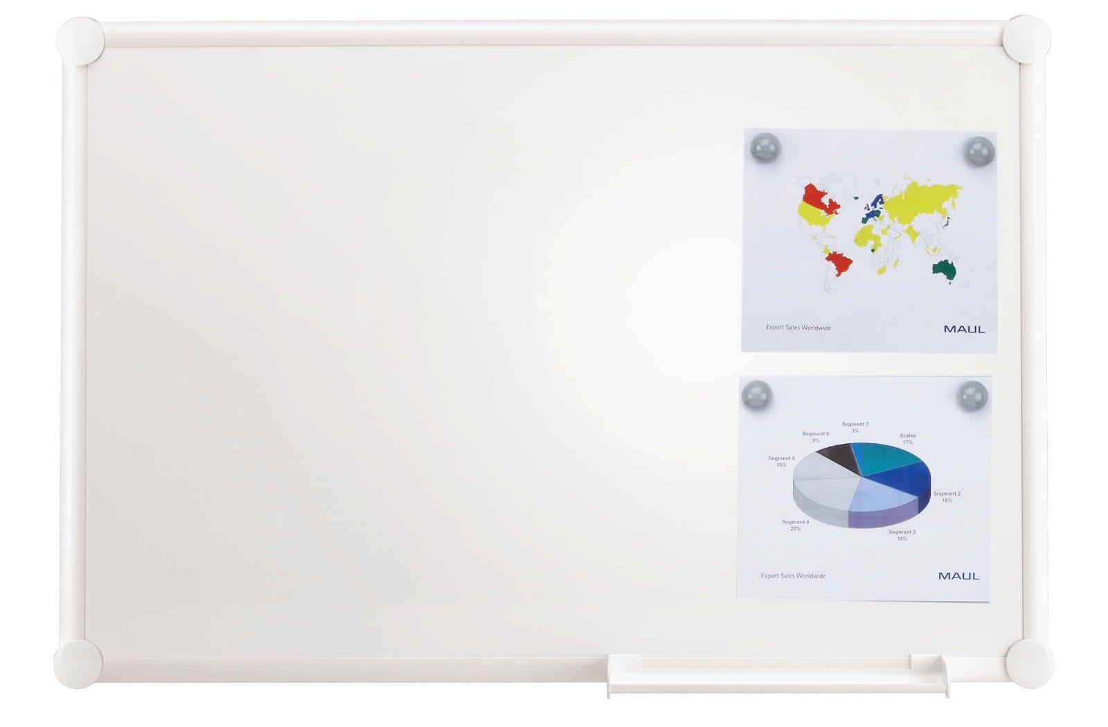 Whiteboard 2000 MAULpro, -white-, 90x120 cm, weiß