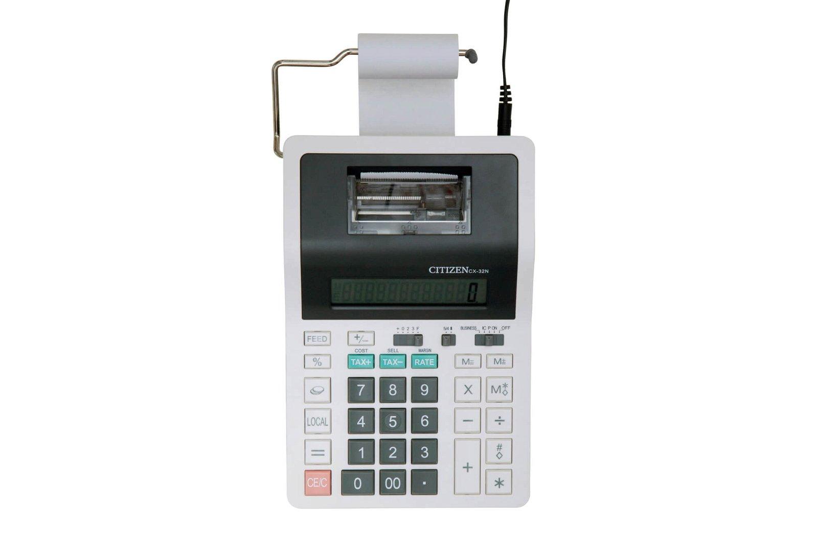 Tischrechner printing CX 32N, weiß