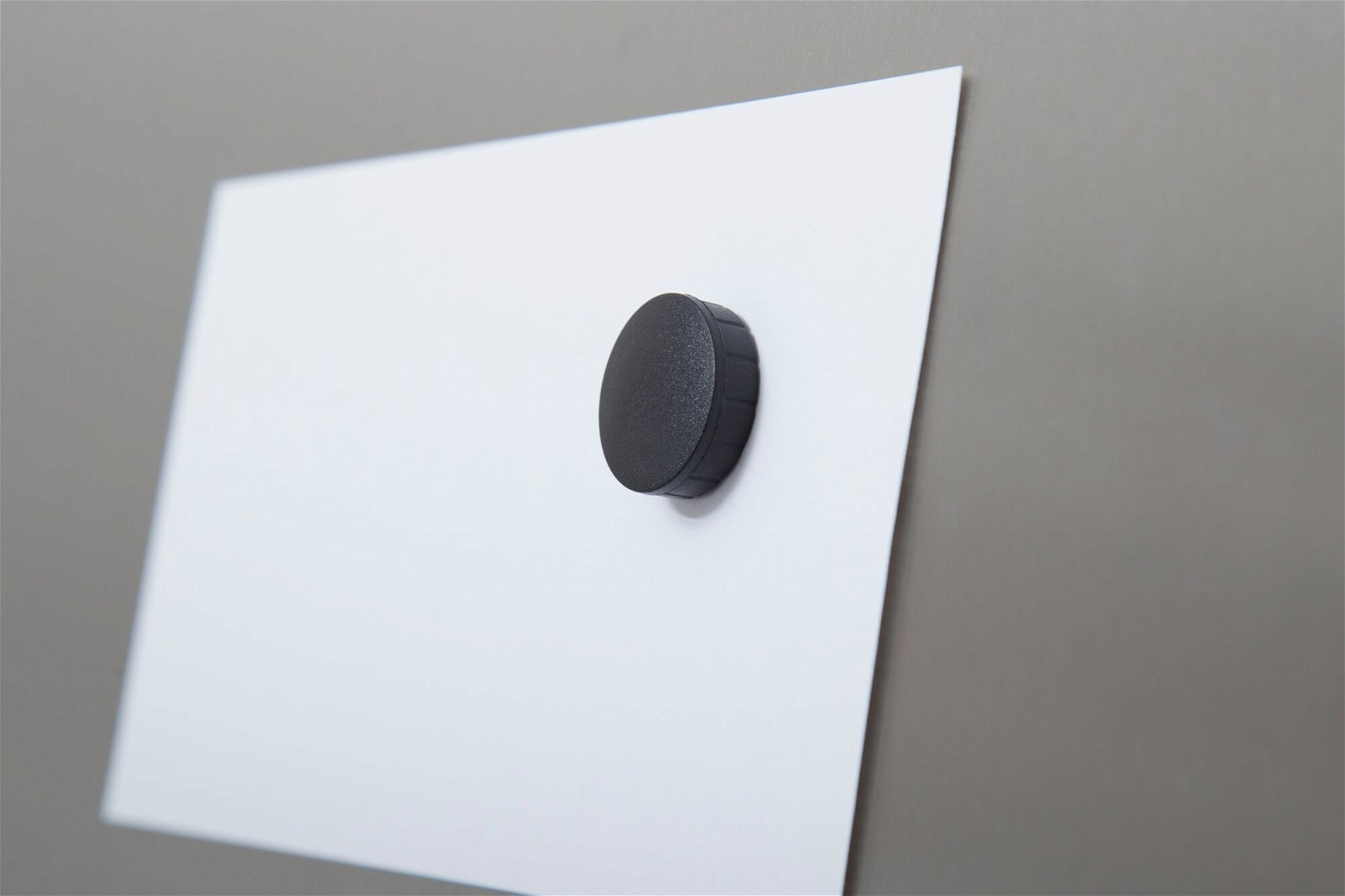 Magnet MAULsolid Ø 24 mm, 0,6 kg Haftkraft, 10 St./Ktn., schwarz