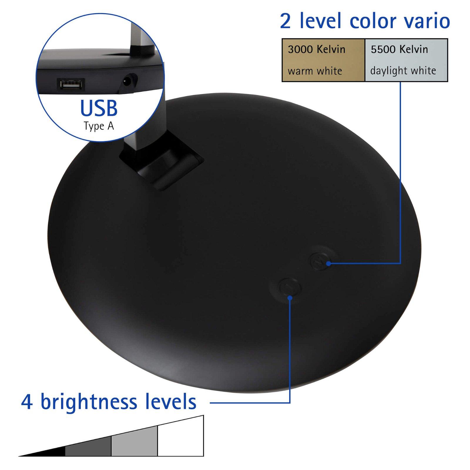 LED-Tischleuchte MAULrubia colour vario