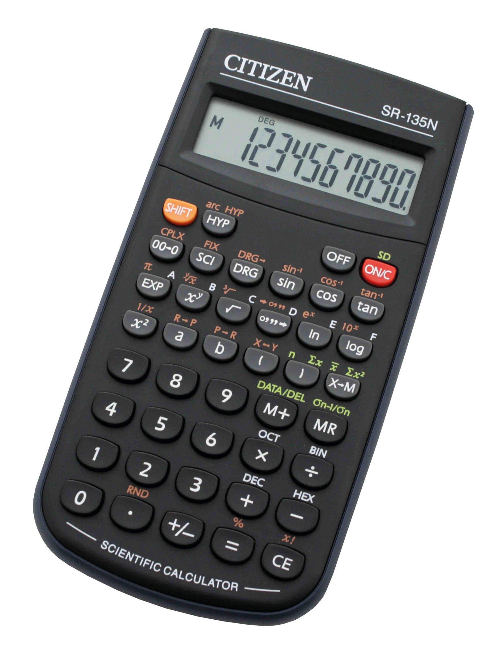 Tischrechner SR135N scientific, schwarz