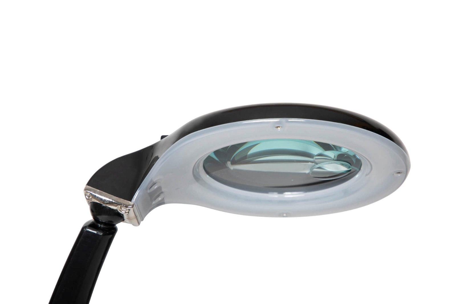 LED-Lupenleuchte MAULduplex, schwarz