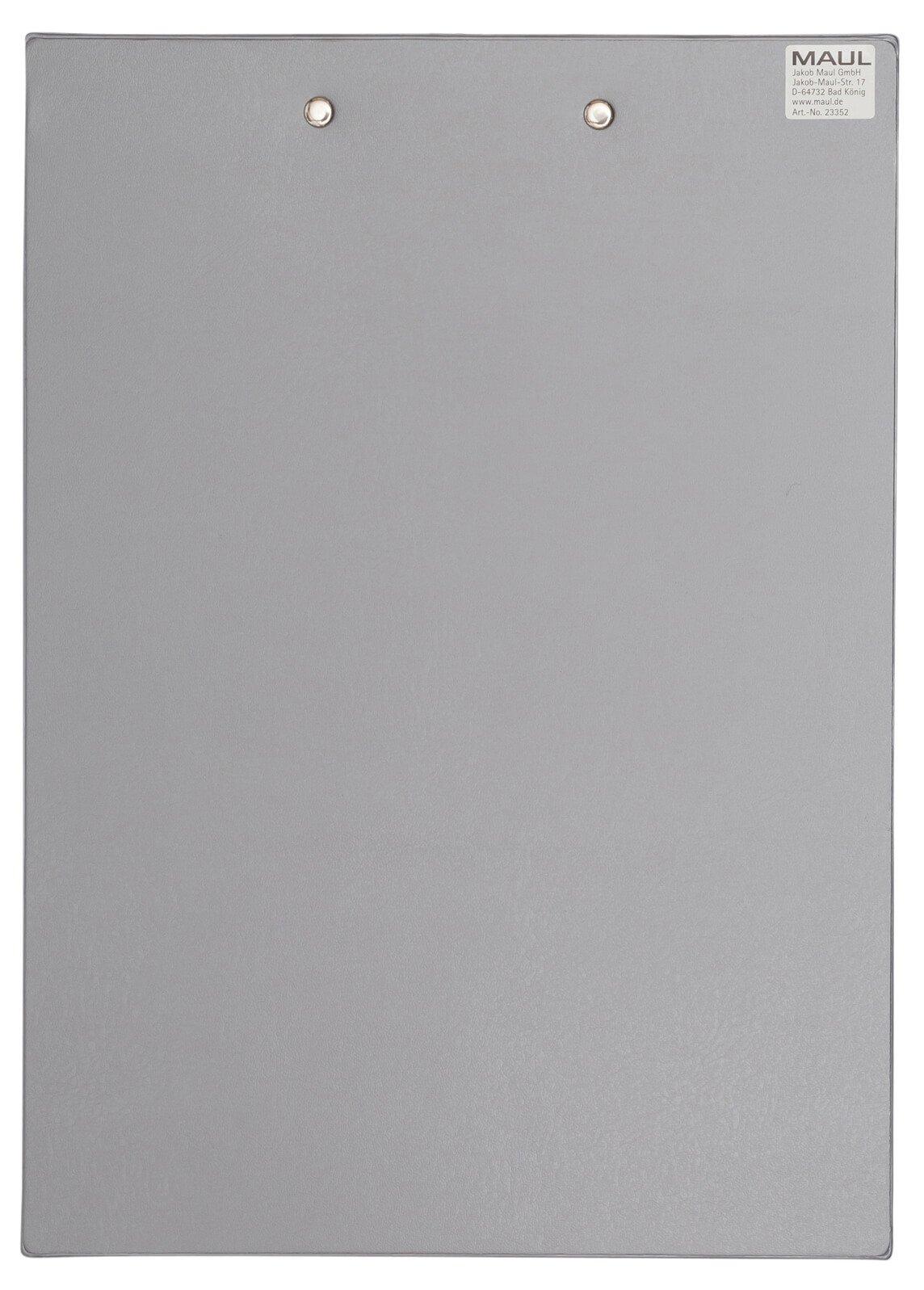 A4 Schreibplatte mit Folien- überzug, silber