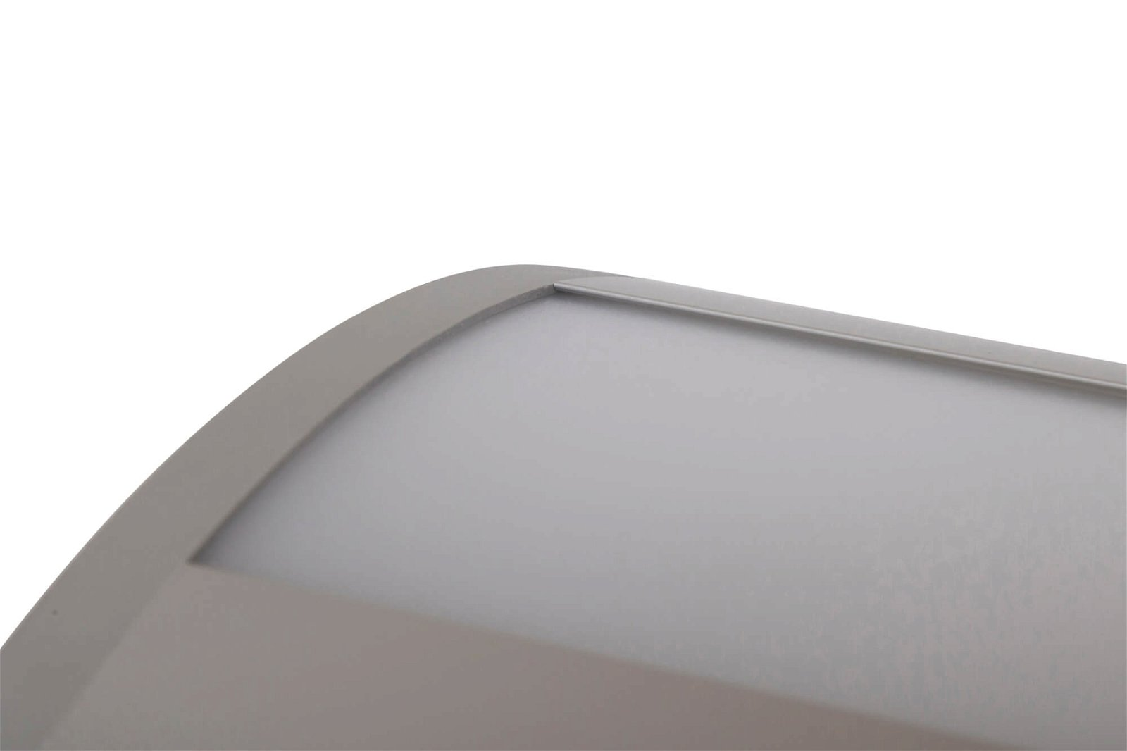 LED-Pendelleuchte MAULeye, 37 W, 122,5 cm, silber