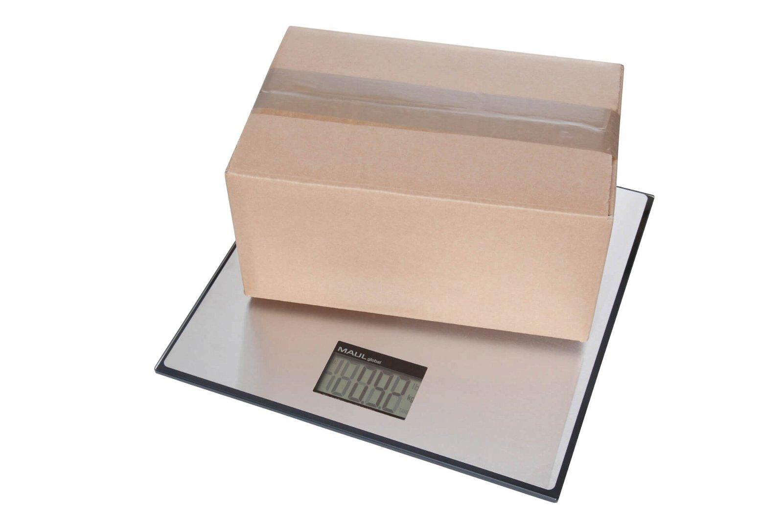 Paketwaage MAULglobal, 50 kg, schwarz