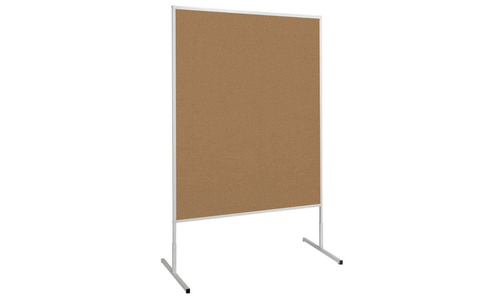 Moderationstafel MAULstandard Karton, 150x120 cm, grau