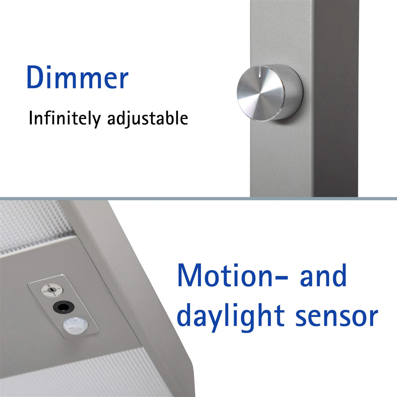 8258795 LED-Tischaufbau L. MAULjuvis dim., Bewegungs-/Lichtsensor