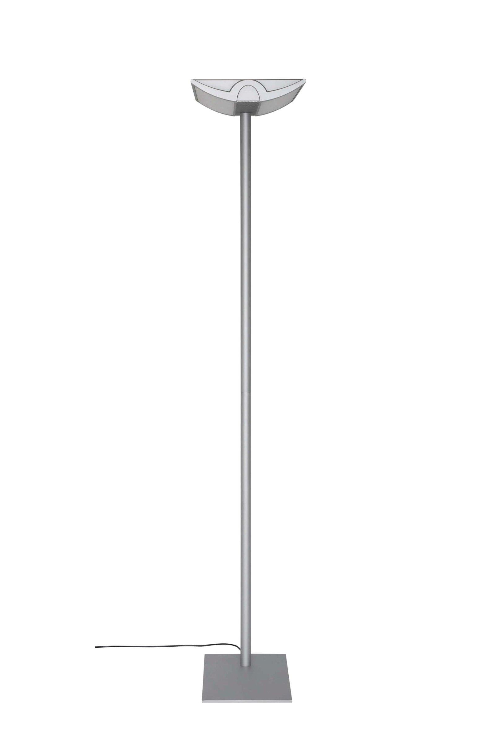 Energiespar-Standleuchte MAULcentauri, dimmbar, silber