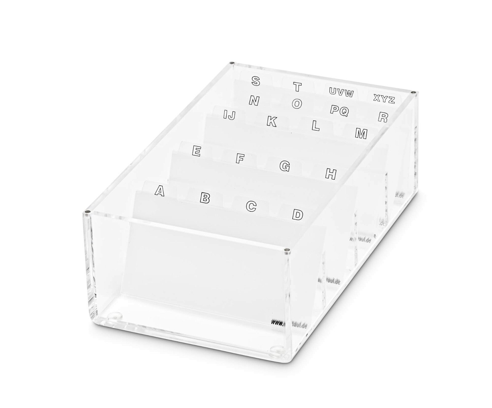 Acryl-Visitenkartenbox, glasklar