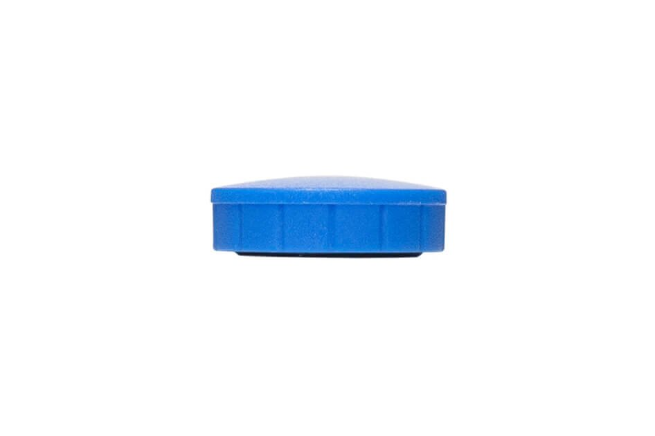 Magnet MAULsolid Ø 24 mm, 0,6 kg Haftkraft, 10 St./Ktn., blau