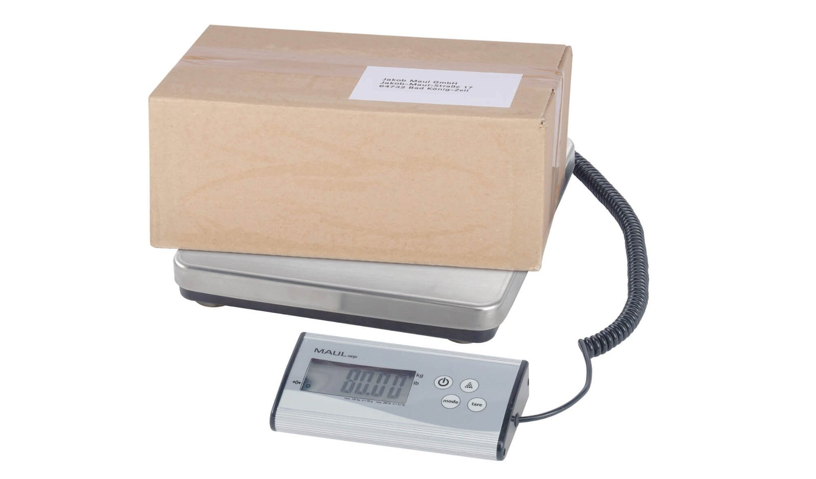 Paketwaage MAULcargo, 120 kg, separates Bedienpult, sonstige