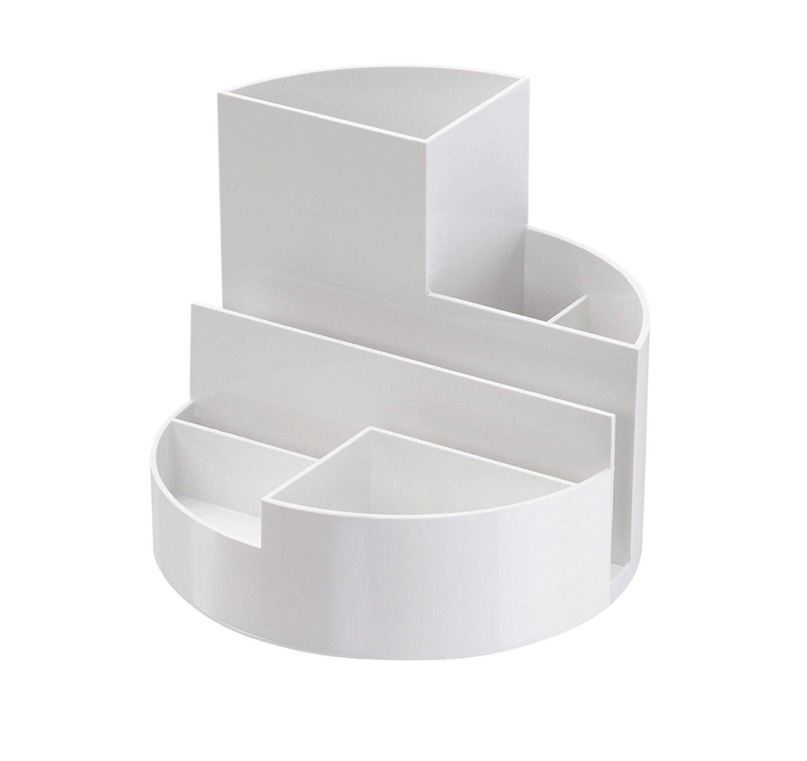 Schreibtischorganizer MAULrundbox Eco, weiß