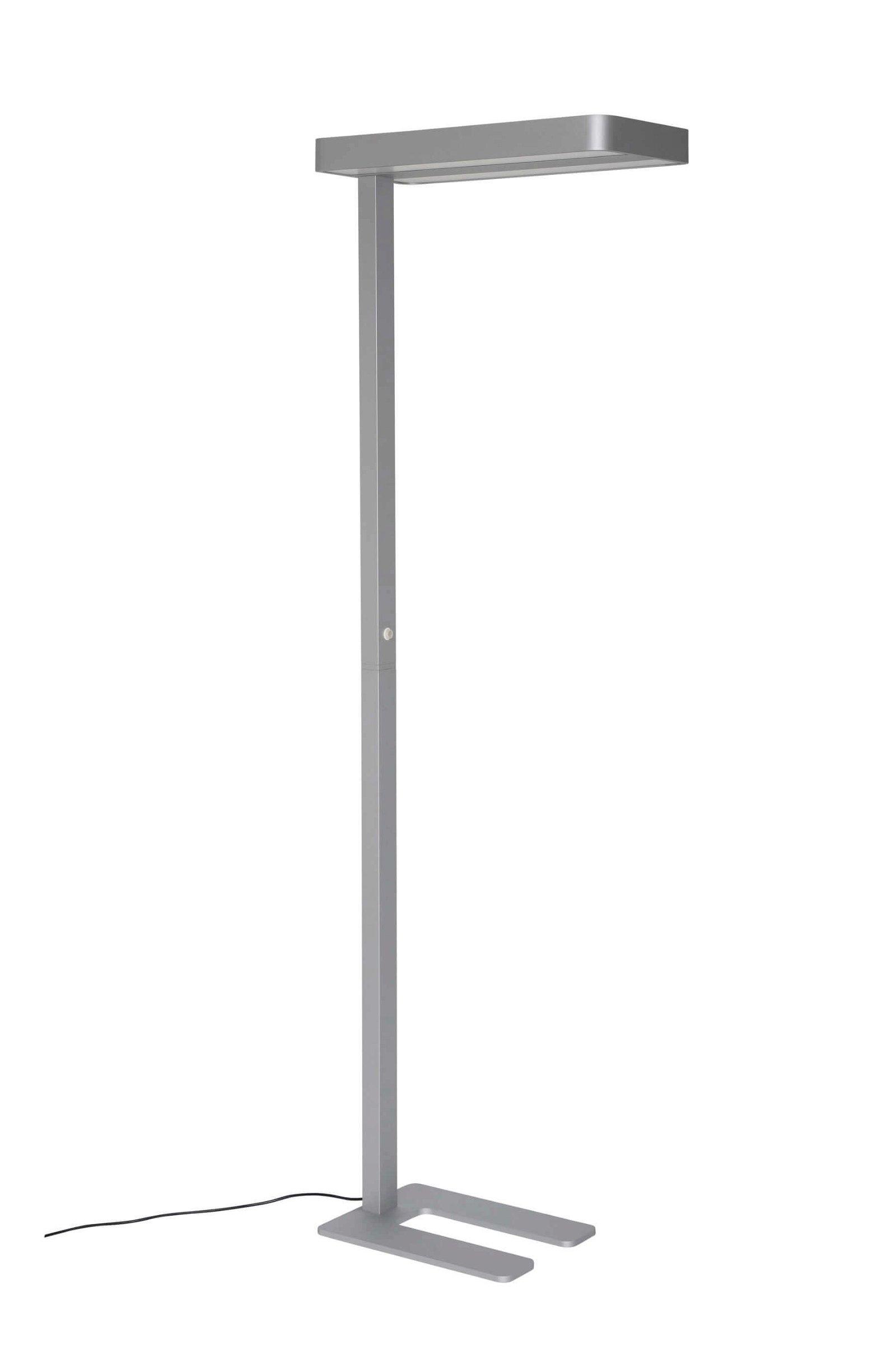 LED-Standleuchte MAULjanus, silber