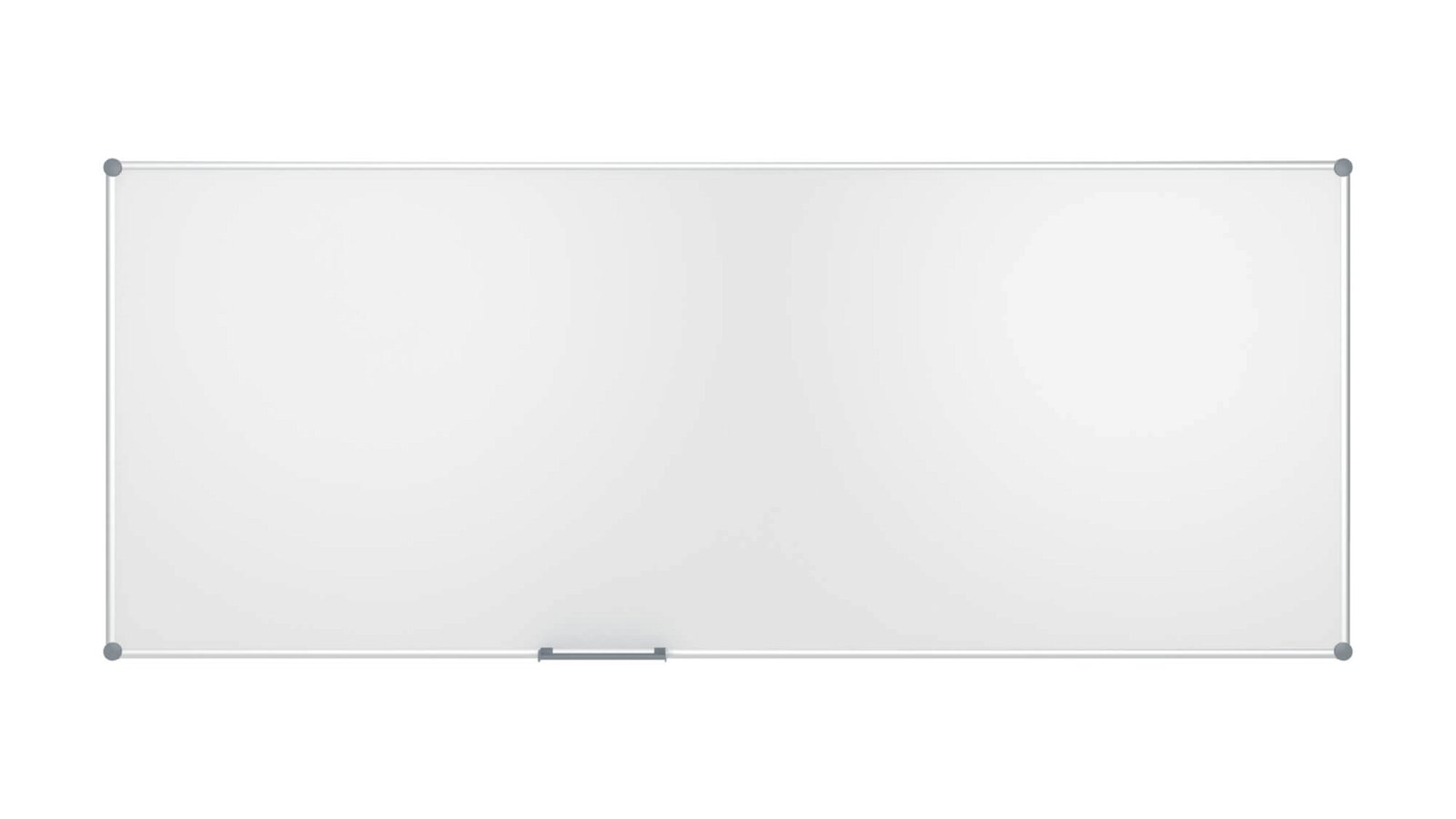 Whiteboard 2000 MAULpro, Emaille, 120x300 cm, grau