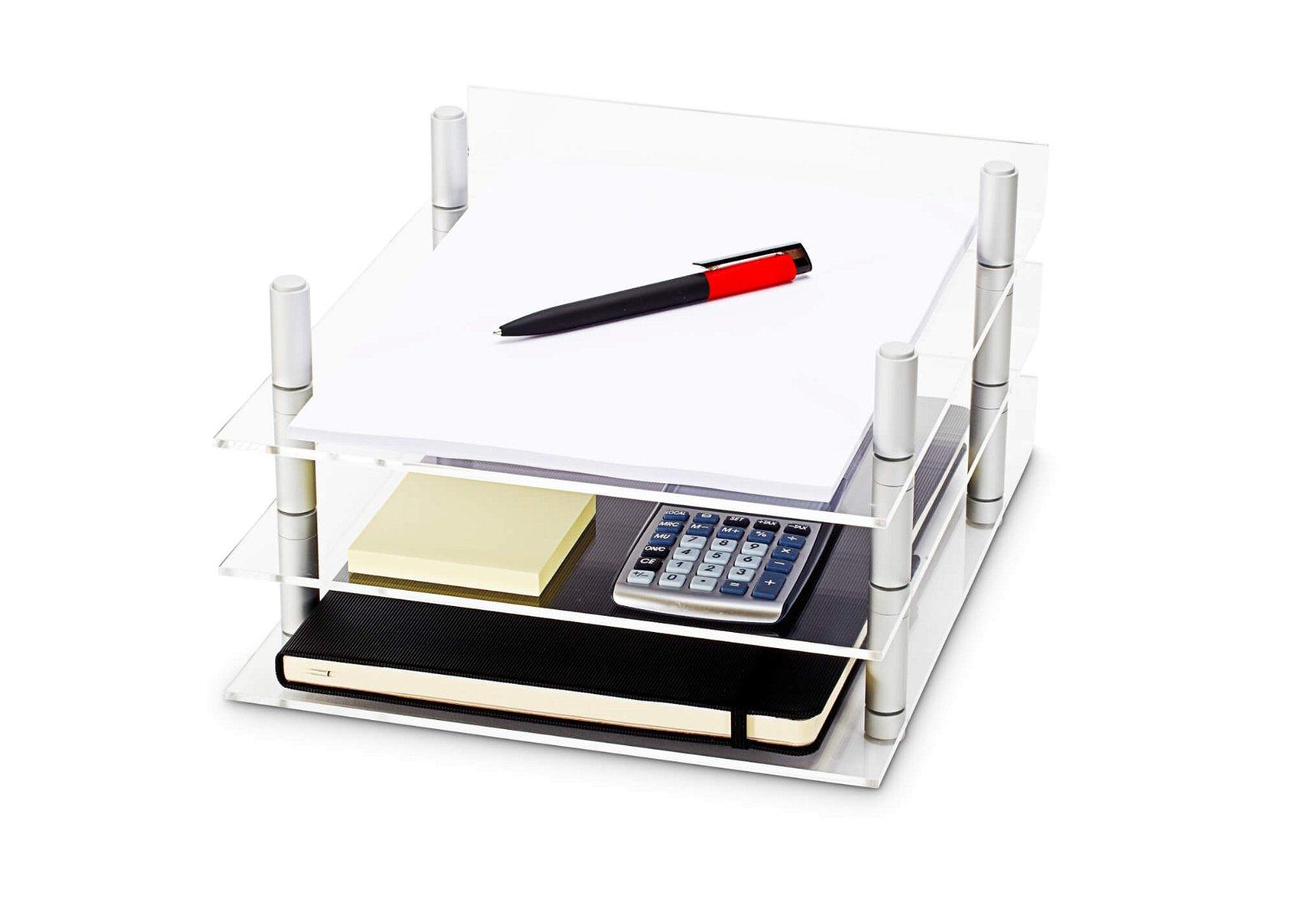 Acryl-Briefablage MAULacro, DIN A4, glasklar
