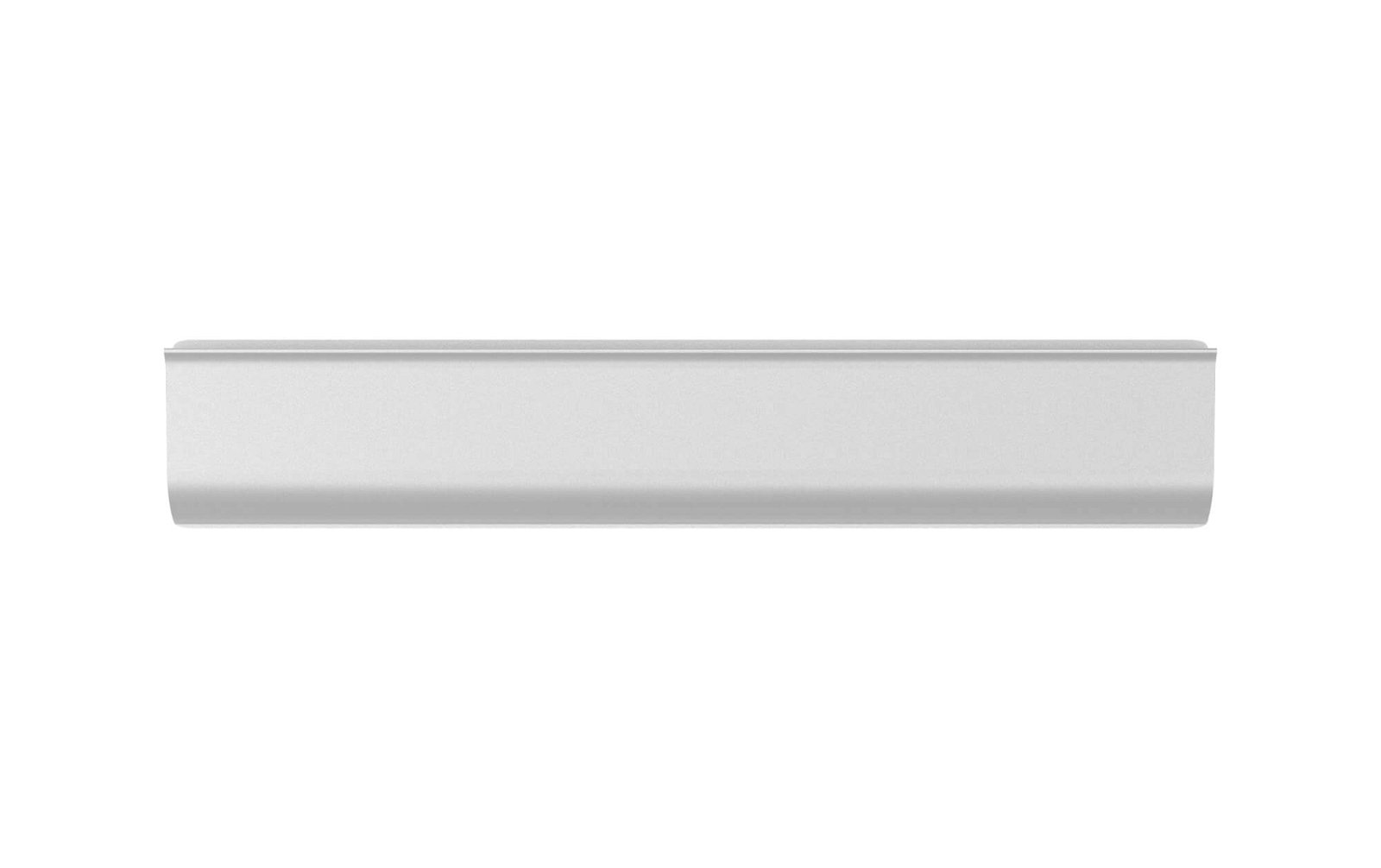 Klemmleiste Aluminium, Länge 21,8 cm, aluminium