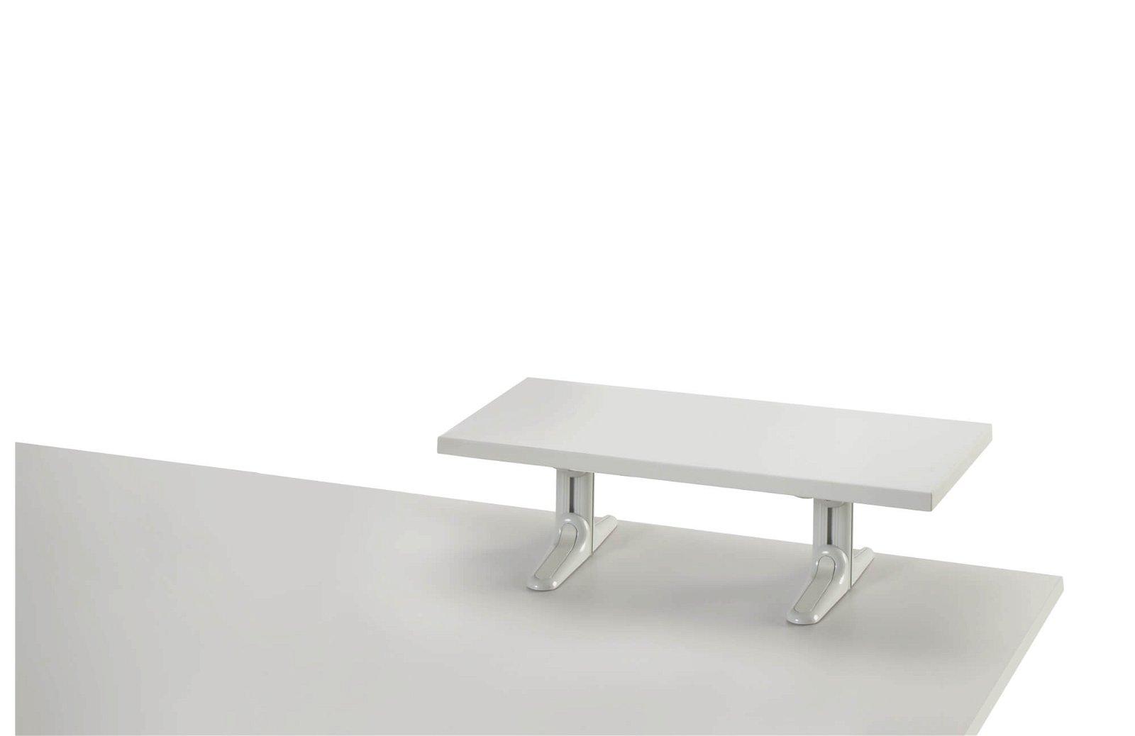 MAULboard Stehmodell, melamin- harzbeschichtet, Länge 80 cm, grau