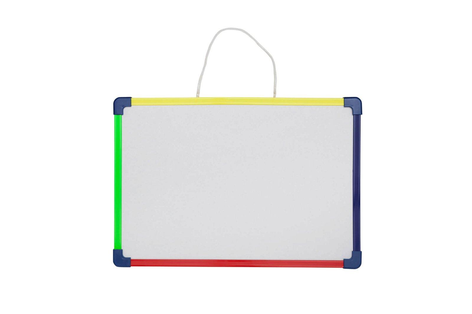 Kinder-Whiteboard, 24x35 cm,  SB-Verpackung, farbig sortiert
