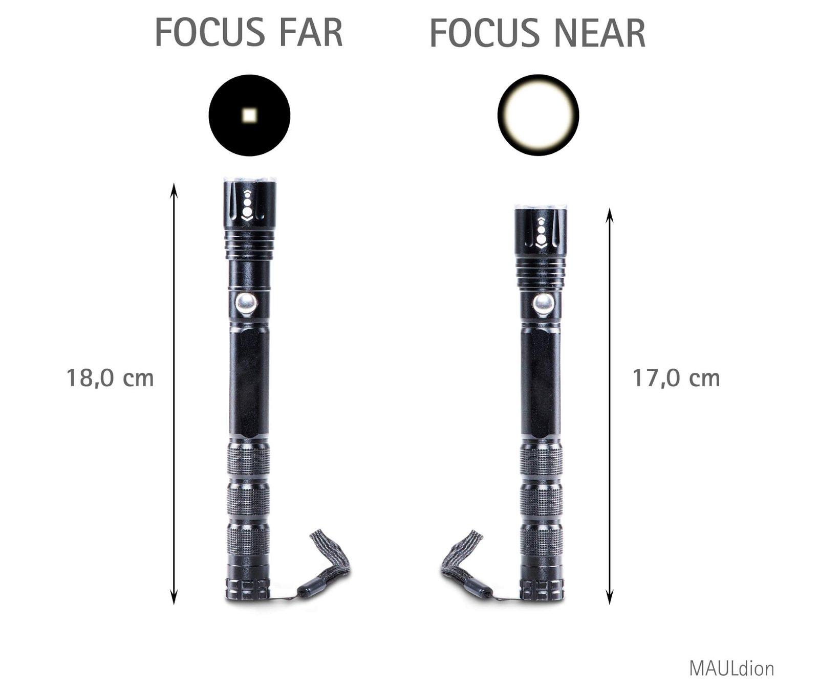 LED-Taschenlampe MAULdion Zoom