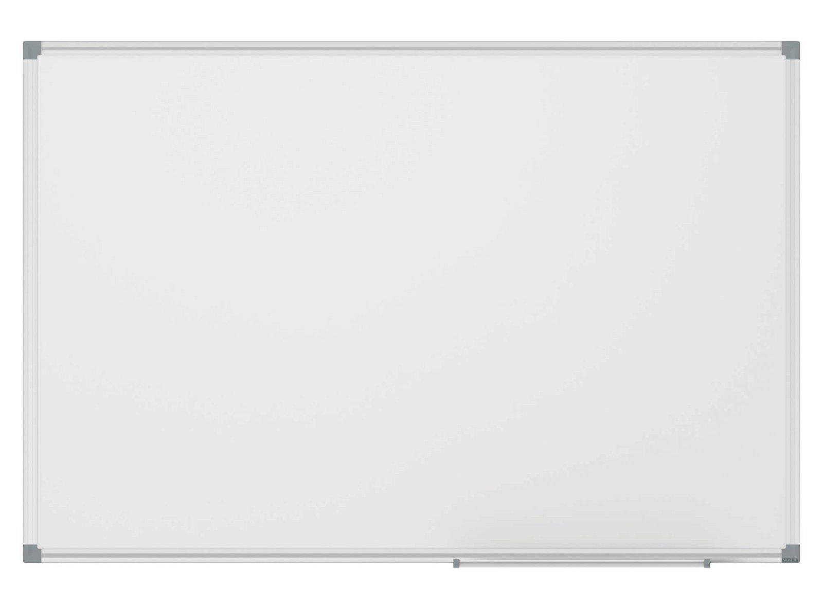 Whiteboard MAULstandard, 100x200 cm, grau