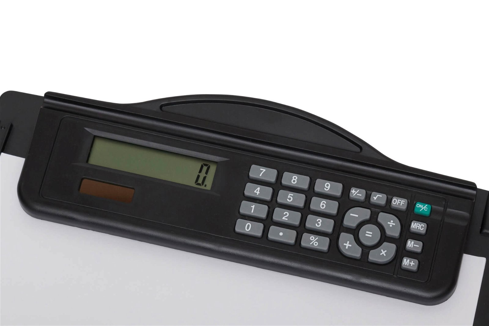 Schreibplatte A4 Rechner Kunststoff, schwarz