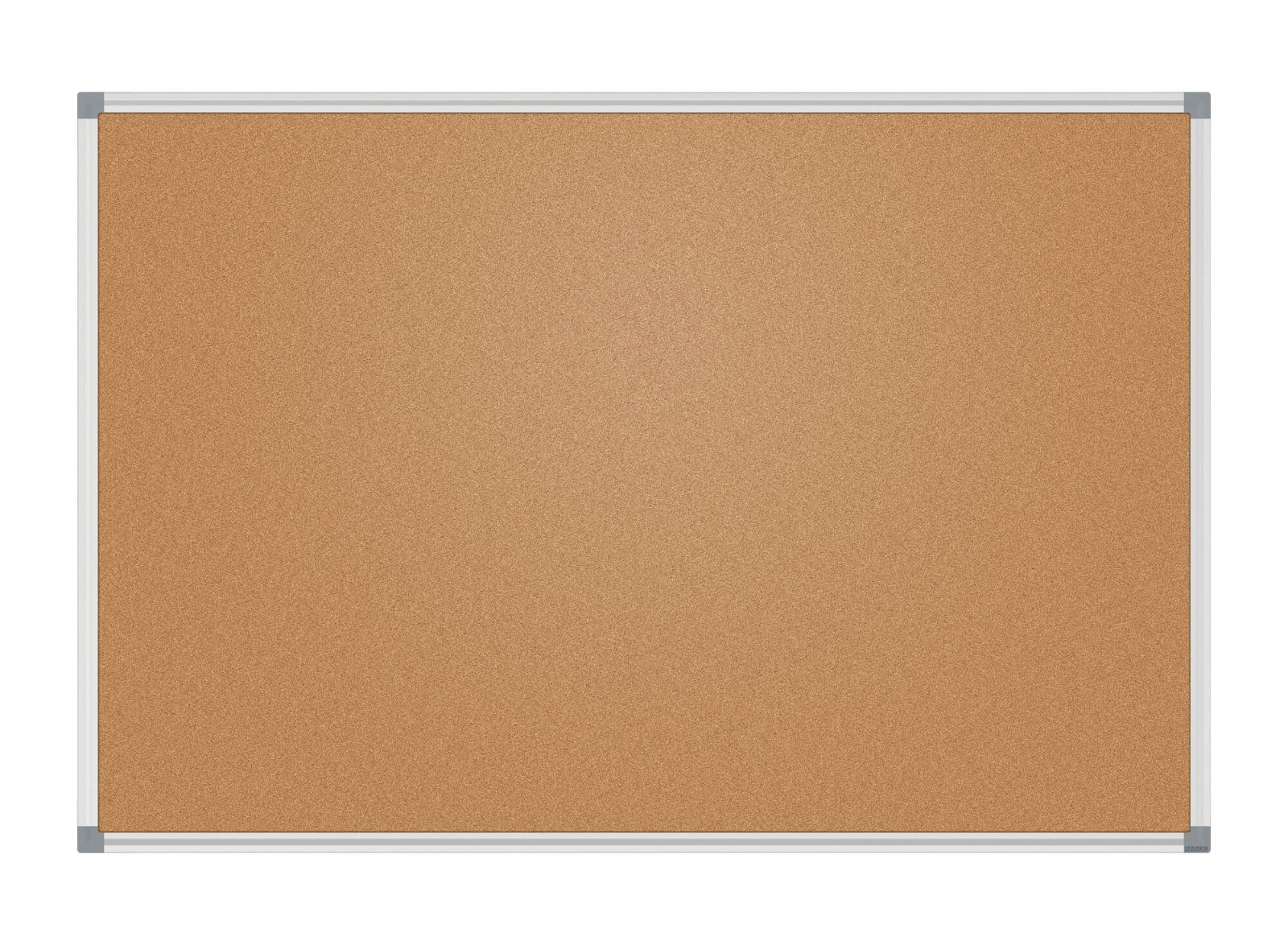 Pinnboard MAULstandard, 90x180 cm, Kork, grau