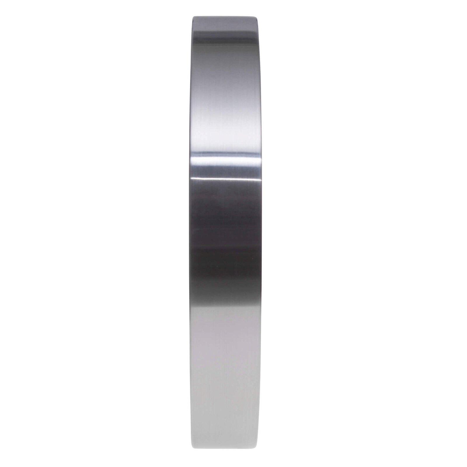 Wanduhr MAULpilot 30RC, aluminium