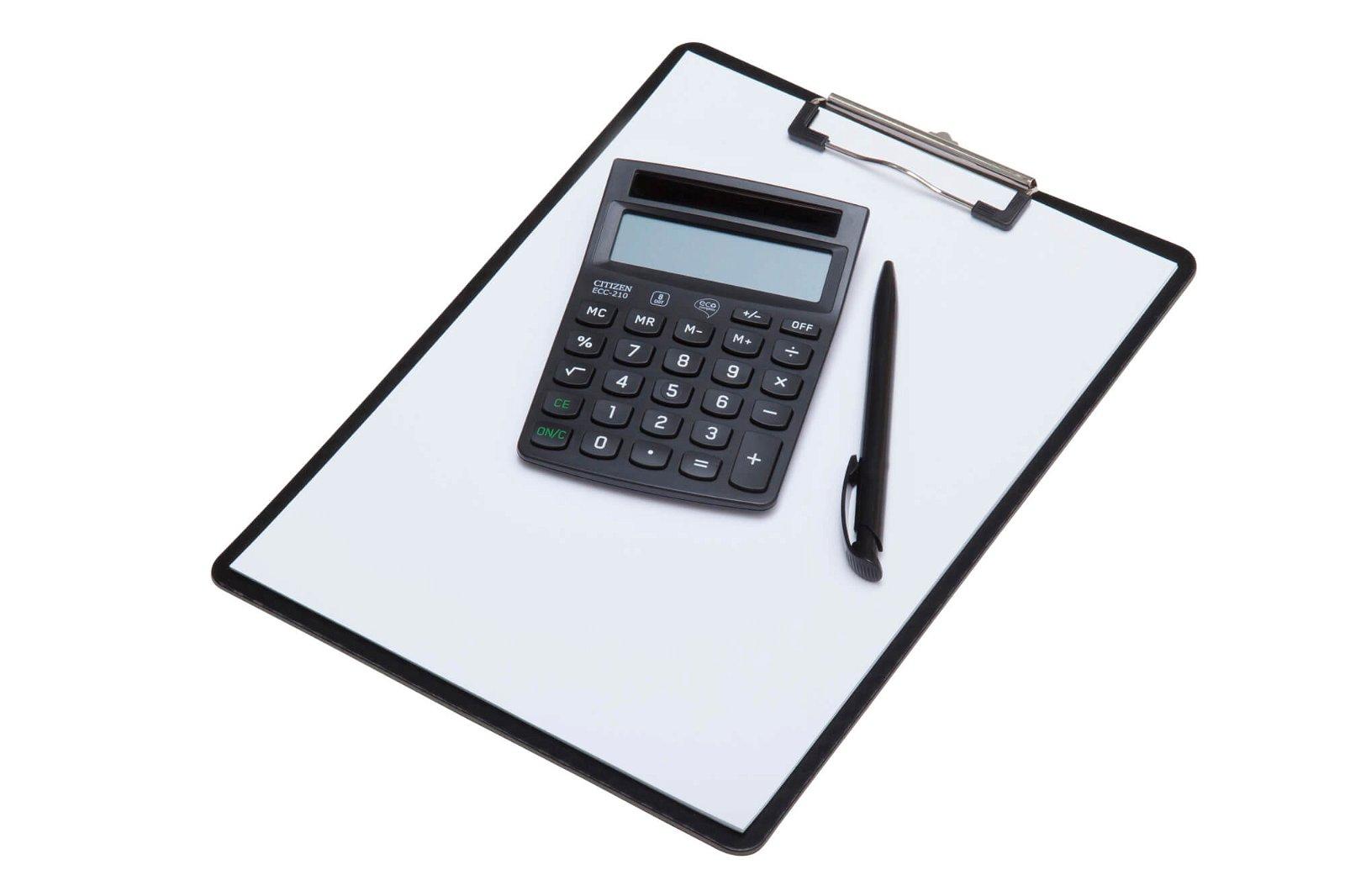 Tischrechner ECC 210 Eco, schwarz