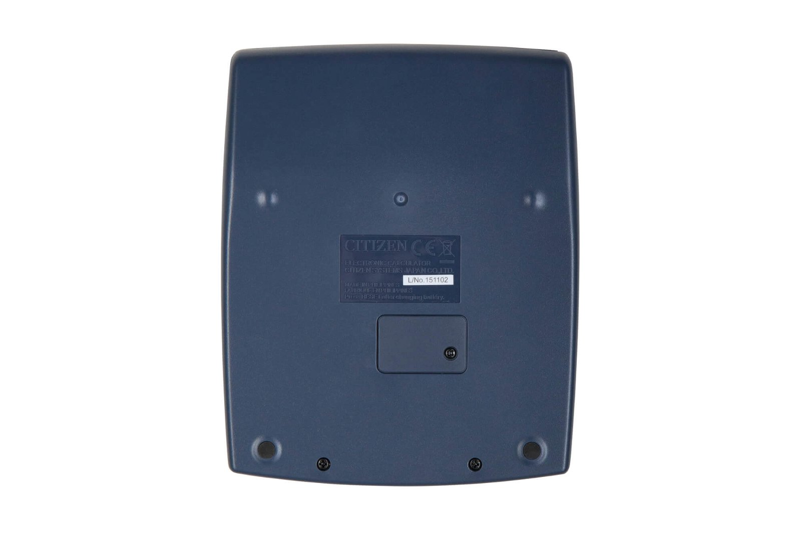 Tischrechner CDC 80WB, silber