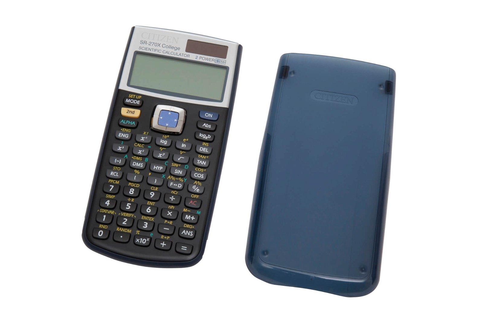Tischrechner SR-270X College, blau