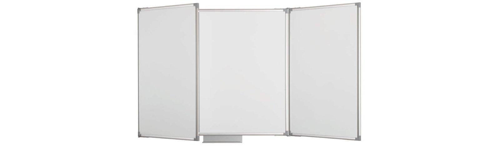 Whiteboard Klapptafel MAULpro, 100x150 cm, grau