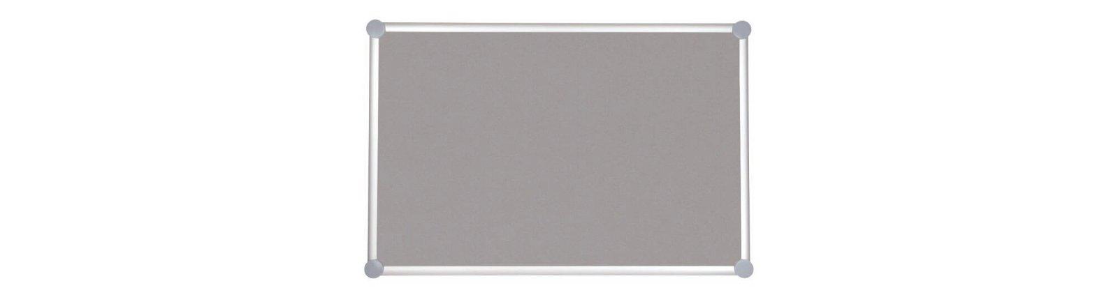 Pinnboard 2000 MAULpro, Textil, 60x90 cm, grau